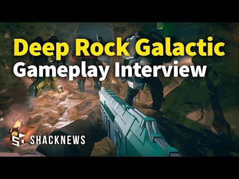 Deep Rock Galactic Exclusive Gameplay Interview
