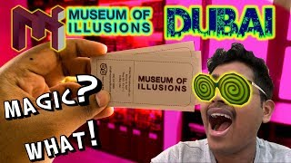 MUSEUM OF ILLUSIONS DUBAI - VLOG !!! (#1)