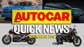 Tata Gravitas, 2020 Honda City, Mustang Mach-e and more   Quick News   Autocar India