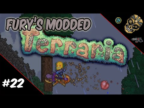 Fury's Modded Terraria | Episode 22: The Corny Eviscerator!