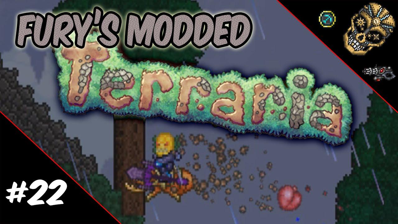 Fury's Modded Terraria | Episode 22: The Corny Eviscerator!