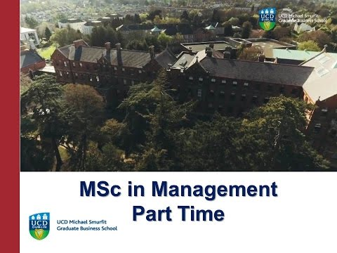 Msc In Management Part Time Ucd