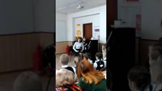 Урок музыки на конкурсе