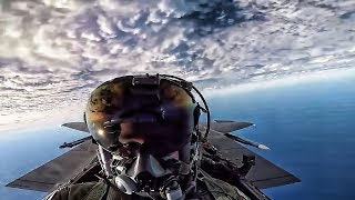 F-15E Strike Eagle Cockpit Vid • Exercise Point Blank (2018)
