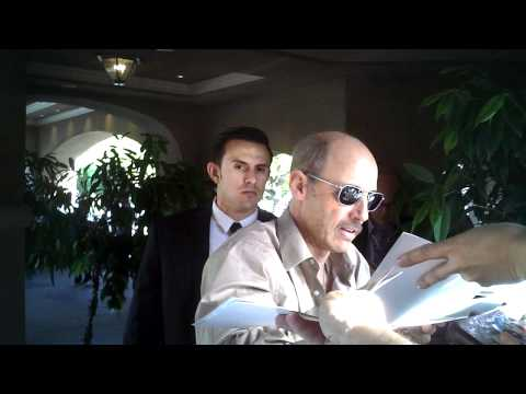 jon gries signing autographs at FOX party 1 8 11