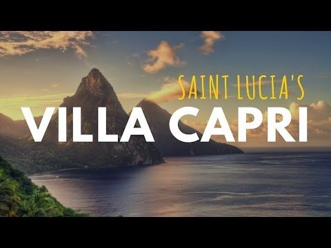 Travel Agent Support: Villa Capri Luxury Rental in St. Lucia - Travel Agent FAM Discount