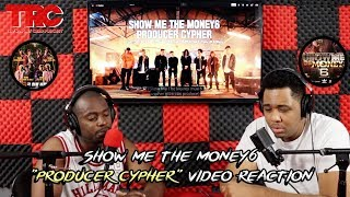 "Show Me The Money 6 ""Producer Cypher"" Video Reaction"