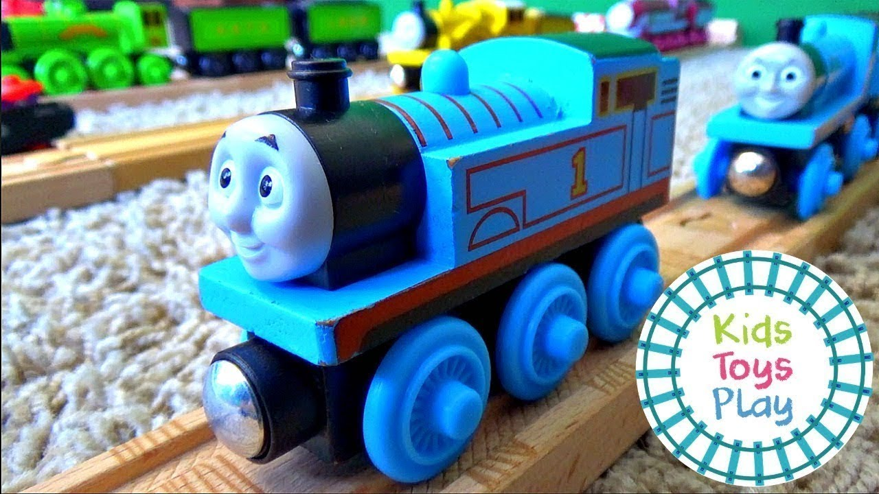 Thomas and Friends Wooden Railway and Trackmaster Complete Toy Train Collection
