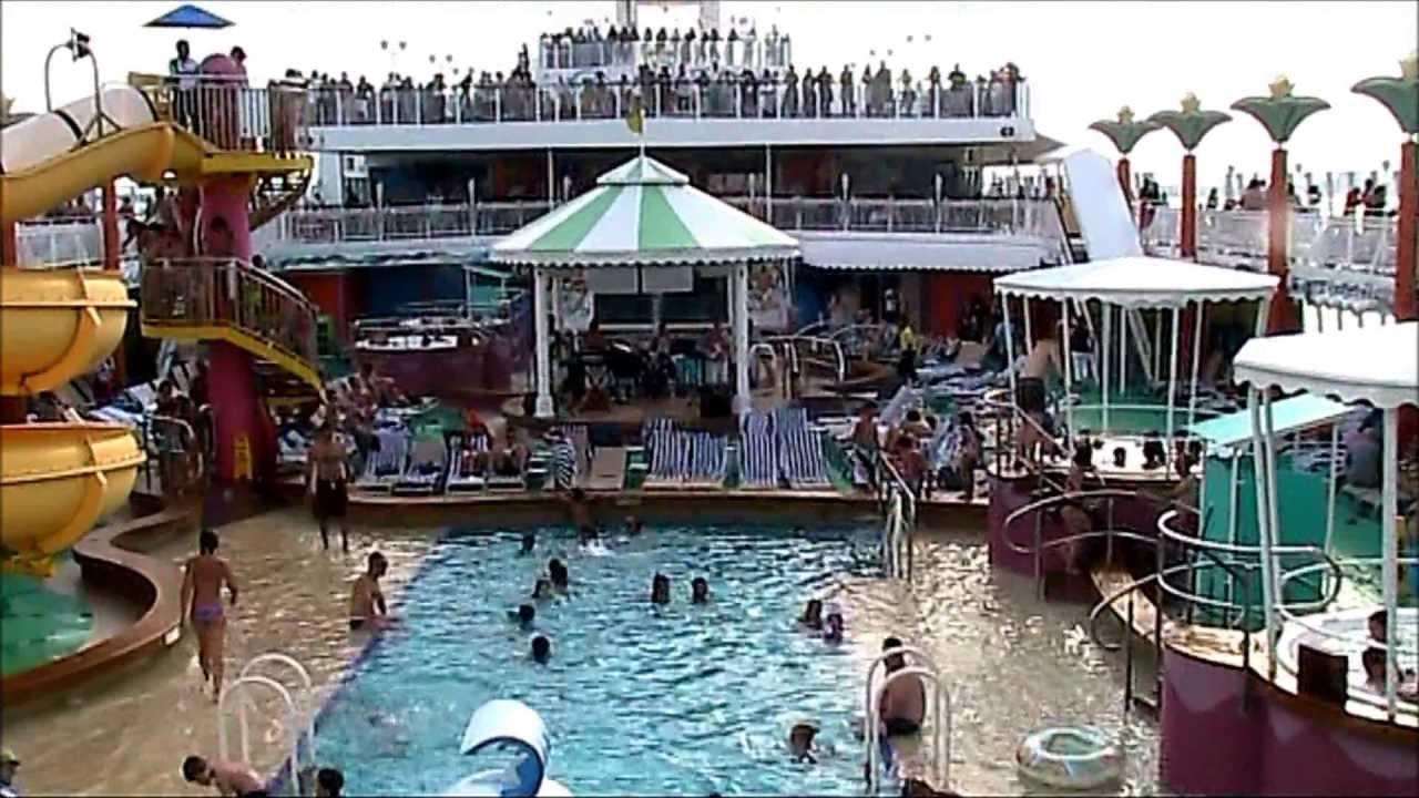 NCL Jade Pool Deck  YouTube