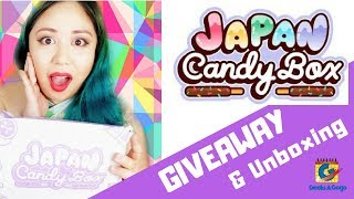 FREE JAPAN CANDY BOX GIVEAWAY with GEEKSAGOGO!