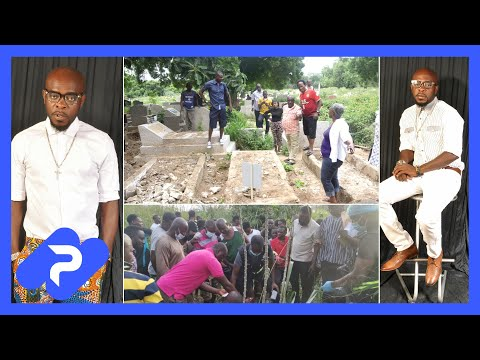 Sad, Late Musician Kofi B's Tomb at Cemetery Destroyed - Full Details..