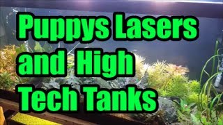 Puppy's Lasers and High Tech Tanks!!