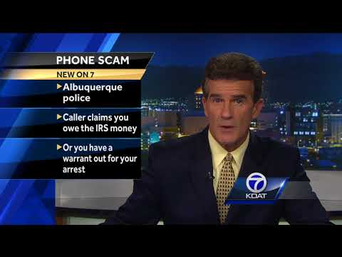 Albuquerque police warn of new phone scam
