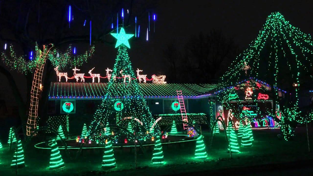 the bagwells christmas light display 2013