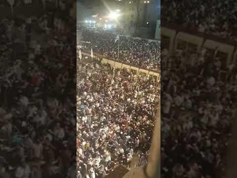 וידאו.עשרות אלפים בחרו קודם בכותל   שלישי בכותל המערבי ירושלים.  סליחות מהלילה בכותל המערבי selichot