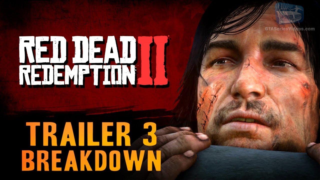 Download Red Dead Redemption 2 - Trailer #3 Breakdown