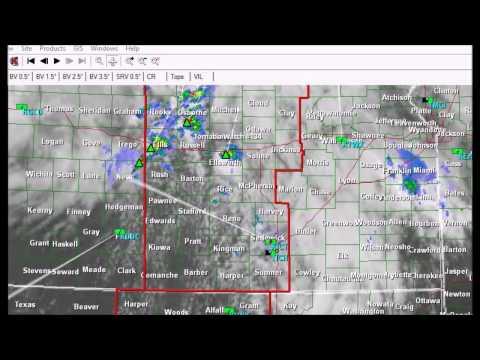 Tornado Watch Audio from Wichita, KS NOAA Radio