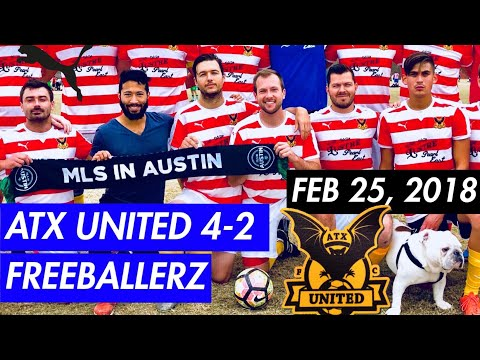 ATX UNITED WHITE | Feb 25, 2018