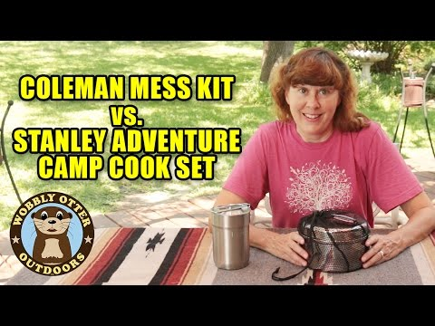 Coleman Mess Kit Vs. Stanley Adventure Camp Cook Set