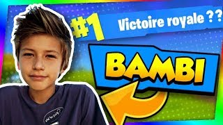 KEVIN, 13 YEARS, A BIG BAMBI GENTIL ON FORTNITE!