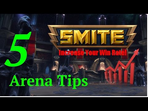 Tips on How to Win Arena Games in Smite