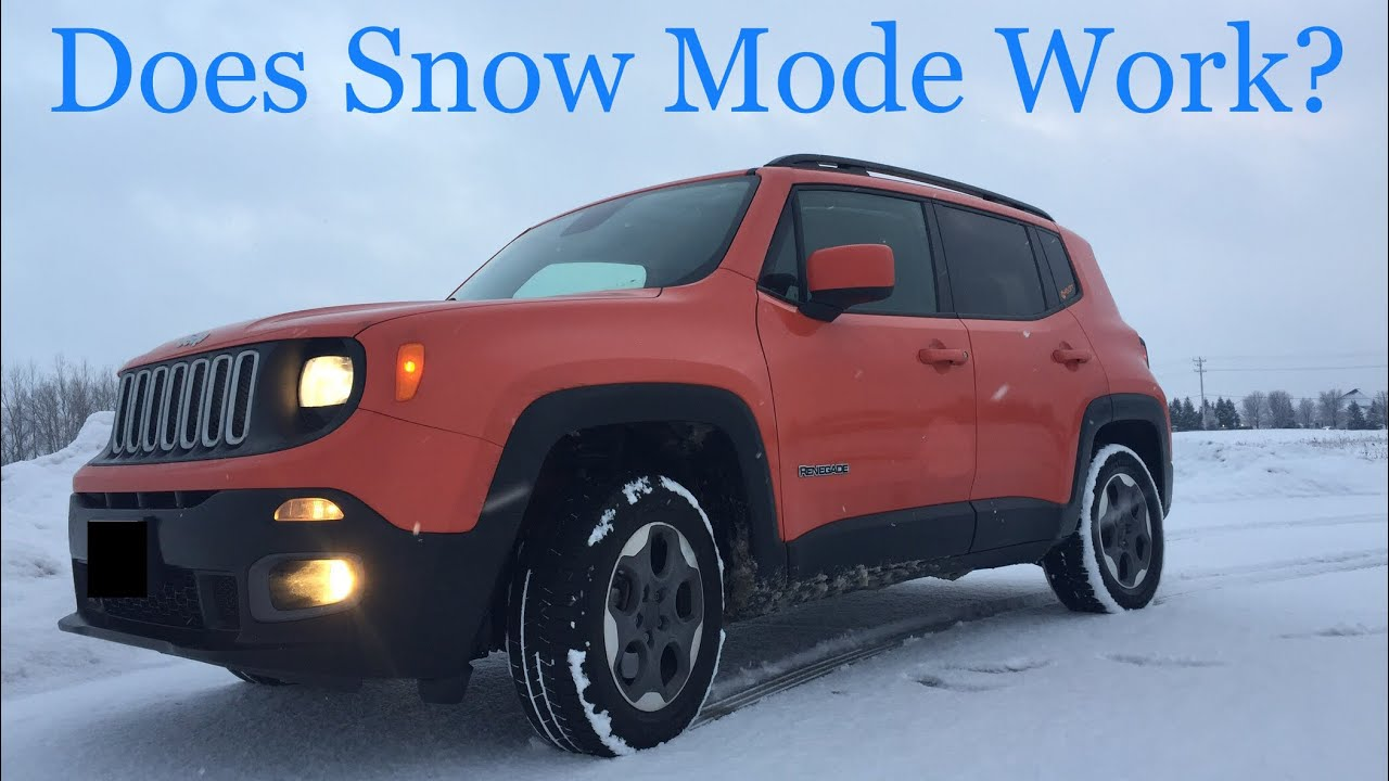 Is The Jeep Renegade Any Good In Snow