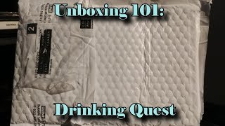 Unboxing 101 - Drinking Quest - Liquor before honor