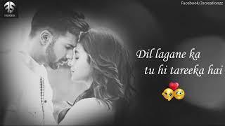 Muskurana Bhi tujhi se seekha hai lyrics male Version