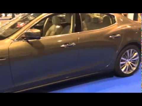 2015 Maserati Ghibli   Madrid Motor Show 2014   YouTube