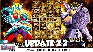 Saint Seiya Ultimate Cosmo 2.2 UPDATE (Os Cavaleiros do Zodíaco) 1080P GAMEPLAY