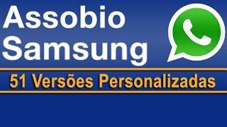 Assobio Samsung personalizado
