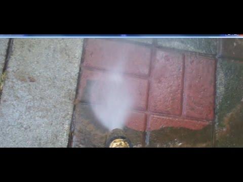Pressure Washing my Stone Patios