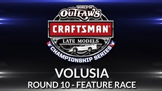 World of Outlaws Craftsman Late Model Championship // Round 10 - Volusia Main Event