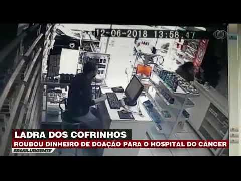 Londrina: Mulher rouba doações para Hospital do Câncer