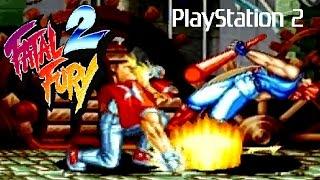 Fatal Fury 2 playthrough (PS2)