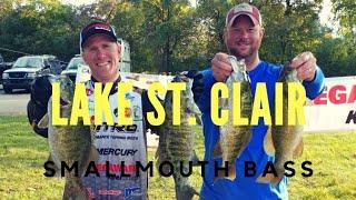Lake St Clair Fall Smallmouth Bass Fishing