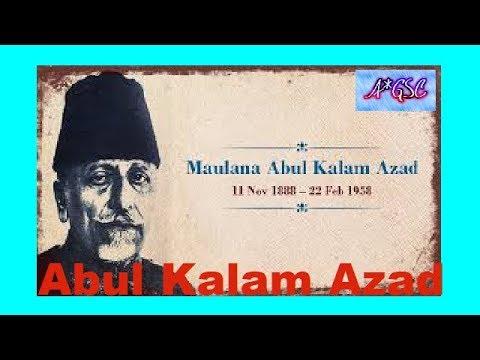 MAULANA ABUL KALAM AZAD / INDO-ISLAMIC CULTURE