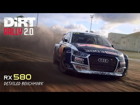 DiRT Rally 2.0 - RX 580 | i5 6600K | Detailed Benchmark |