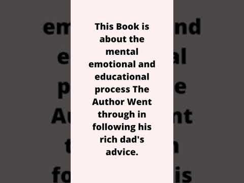 Best Financial Book Review : Rich Dad Poor Dad