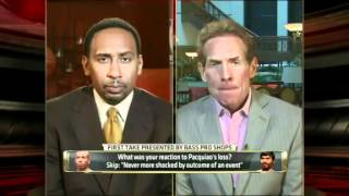 First Take Discusses Manny Pacquiao's Controversial Loss To Timothy Bradley