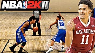NBA 2K11 MyPLAYER TRAE YOUNG #2 - FIRST EVER ANKLE BREAKER! SPLASHING 3