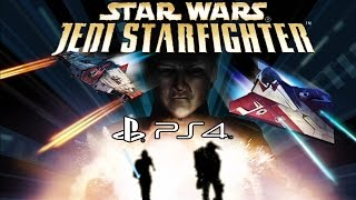 Star Wars Jedi Starfighter - PS4 Gameplay (PS2 Emulation) @ 1080p (60fps) HD ✔