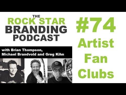 Artist Fan Clubs on The Rock Star Branding Podcast