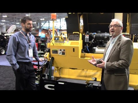 [VIDEO] Carlson improves CP75 paver with Tier 4 technology and more