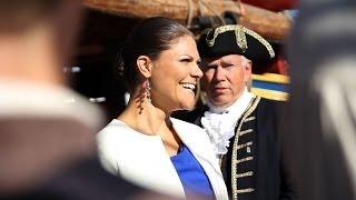 Ankomsten Luleå - Kronprinsessan Victoria på Götheborg