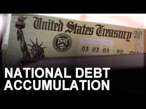 US National Debt, Part 2: Accumulation