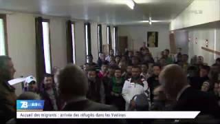 Réfugiés : 80 migrants à Bonnelles