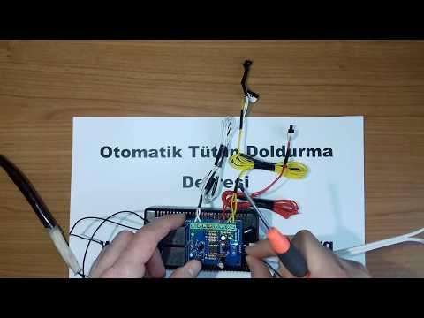 Otomatik Tütün Doldurma Makinası Devresi / Tütün Makinası Devresi / Tütün Sarma Makinası