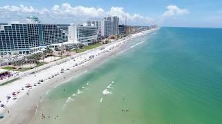 Daytona Beach Florida by Drone 4k UHD