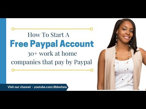 35 Online Work from Home Jobs That Pay Fast via PayPal
